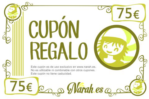 cupon regalo 75€