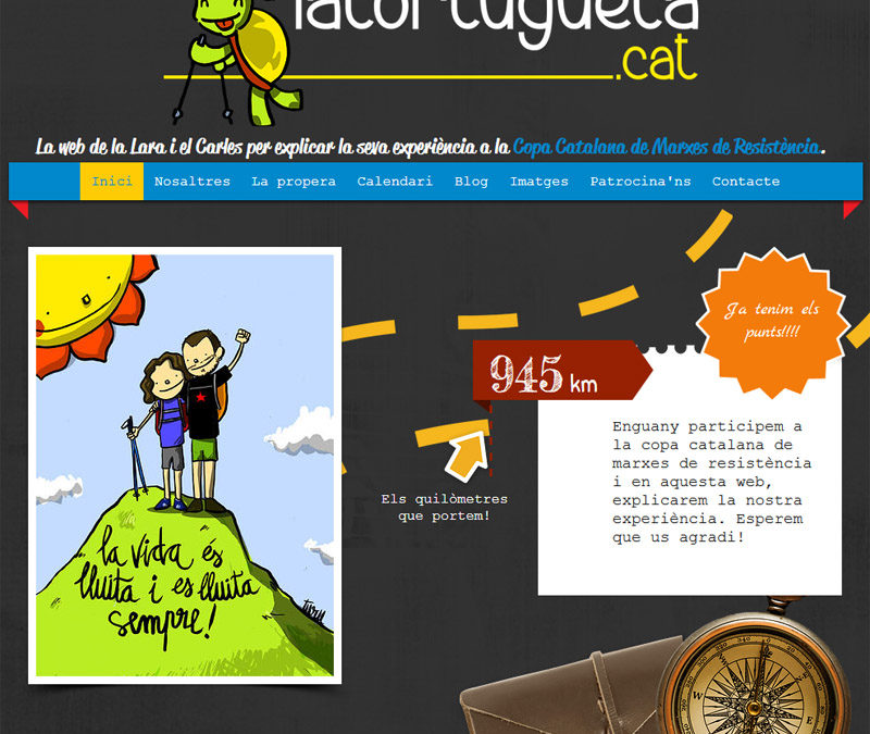 Narah patrocina La Tortugueta.cat