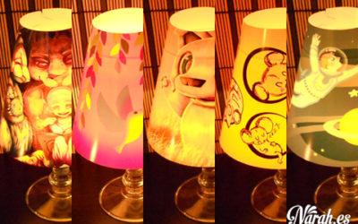 Lámparas benéficas a la venta