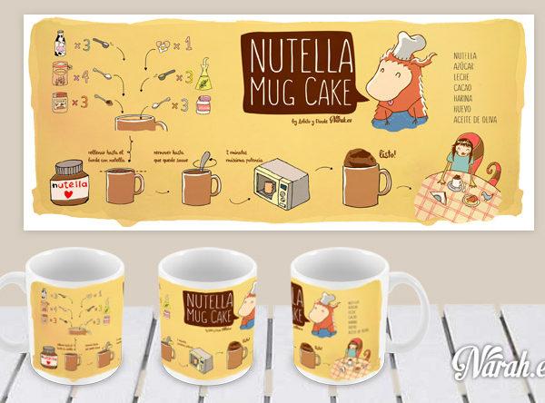 taza nutella mug cake