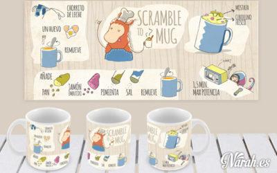 Tazarecetas Scramble tu Mug (2ºplato)