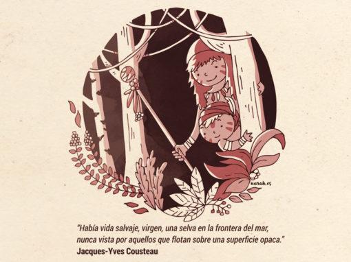 Las aventuras de Jacques Yves Cousteau