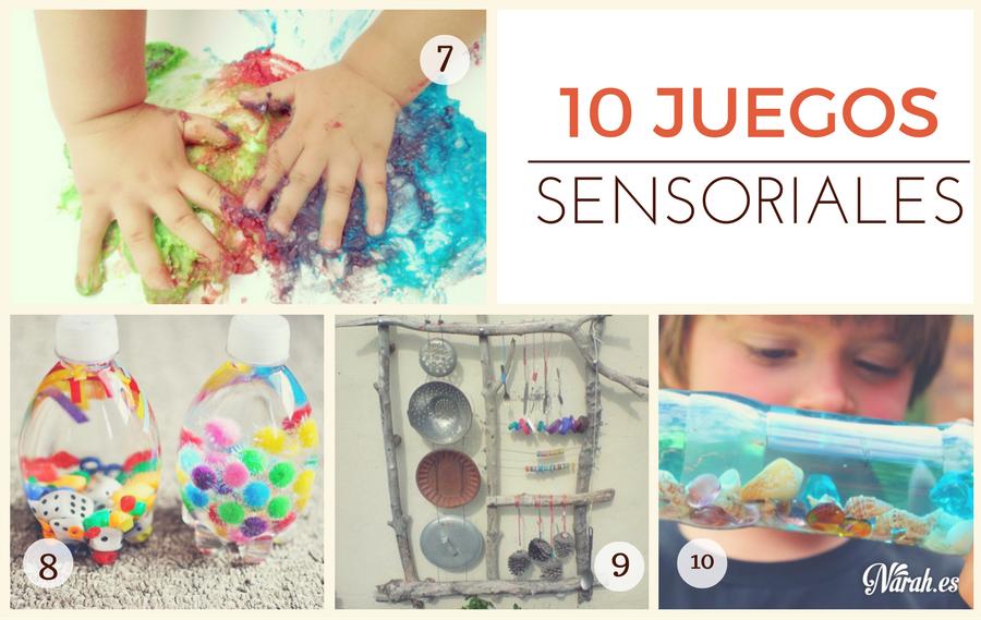 juegos sensoriales