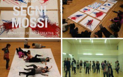 Narah en el taller de danza creativa de Segni Mossi