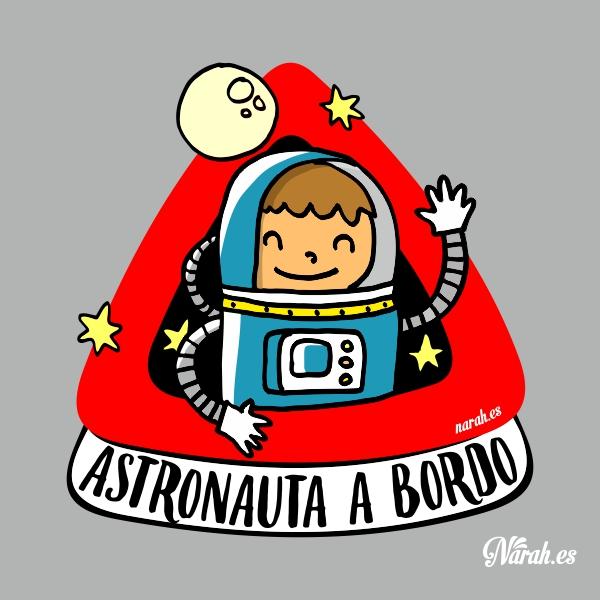 astronauta a bordo narah