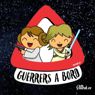 hermanos guerreros a bordo jedi star wars 02
